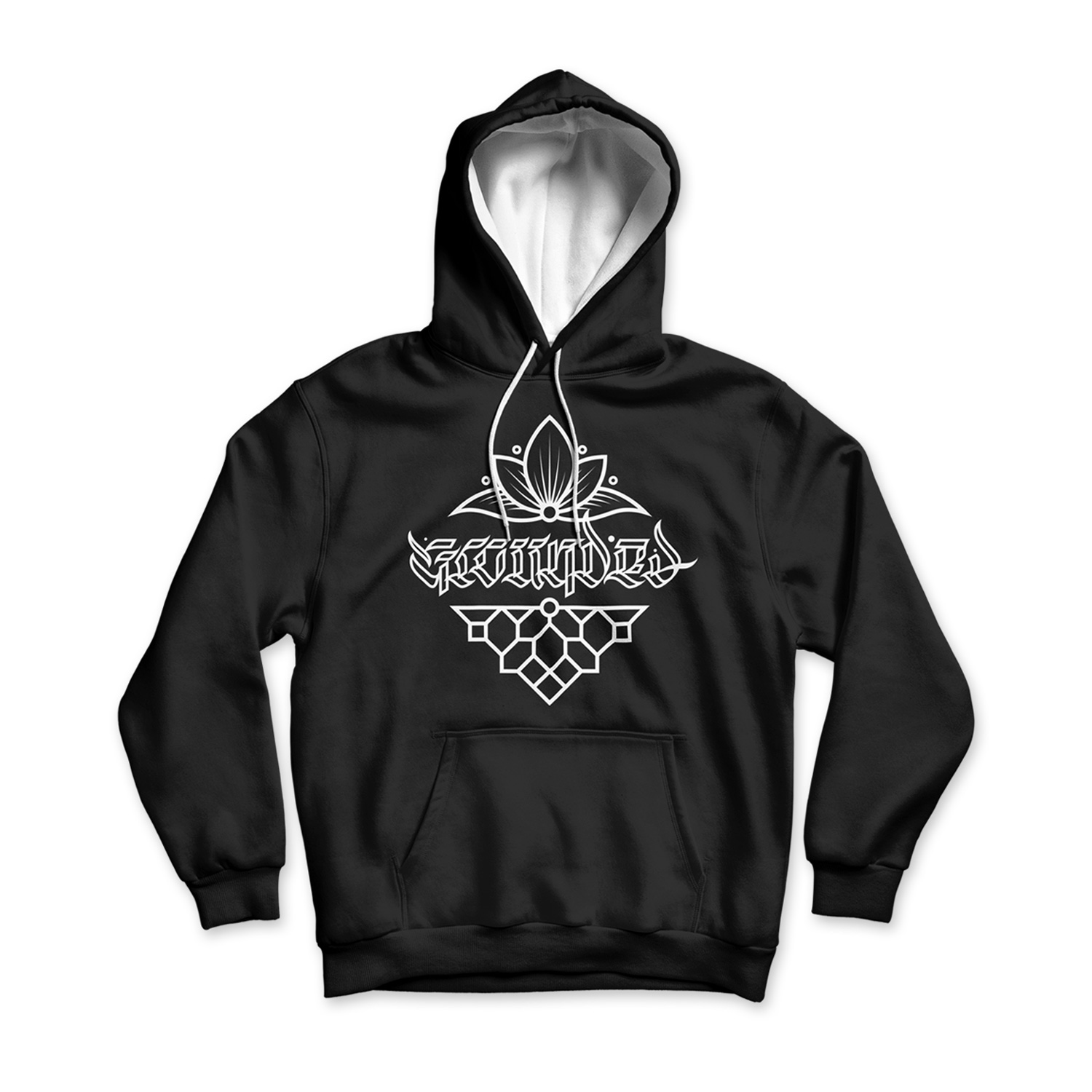 Grounded - Calligraphy Hoody