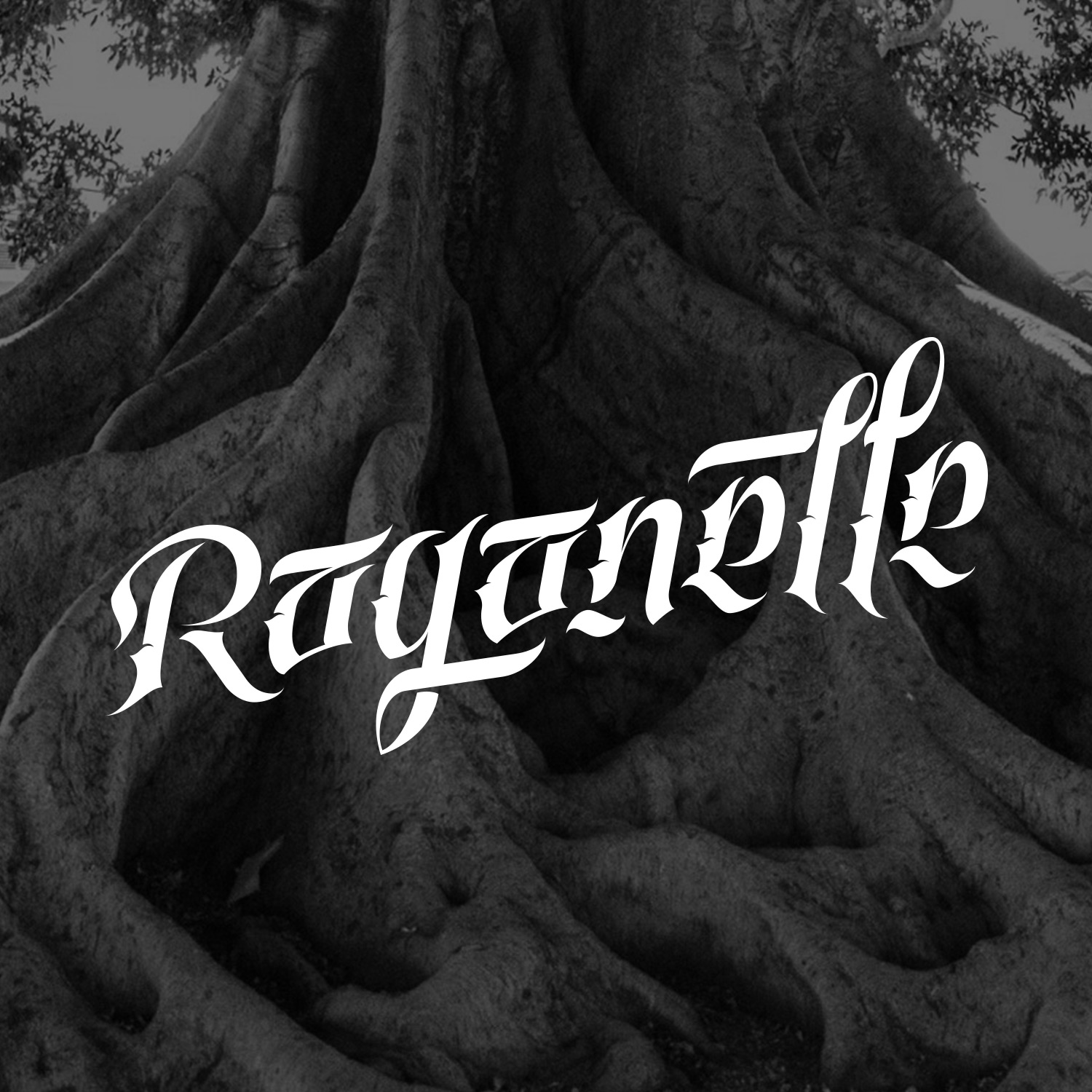 Raganelle - Calligraphy Logo